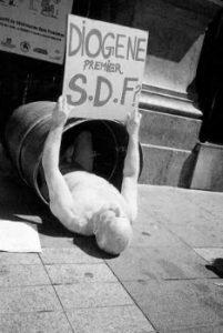 Diogène premier S.D.F.?, 1994