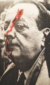 Attentat contre André Malraux lors de l'inauguration du musée Chagall à Nice, 1969